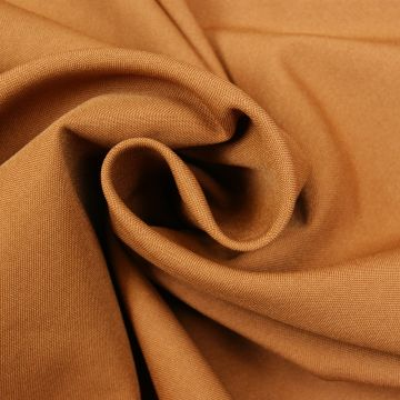 Brandhemmender Stoff camel 280cm breit + Zertifikat