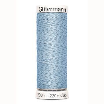 Gütermann naaigaren 200mtr licht blauw nr.75
