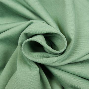 Uni Trikot Baumwolle altes Grün