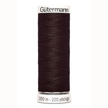 Gütermann naaigaren 200mtr donker bruin nr.696