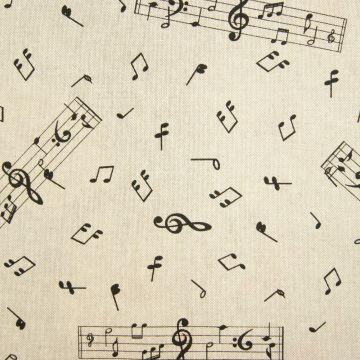Decoratiestof muziek