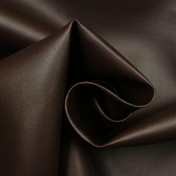 Kunstleer donker-bruin