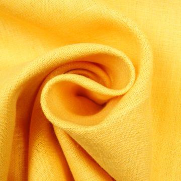 Leinen gewaschen gelb