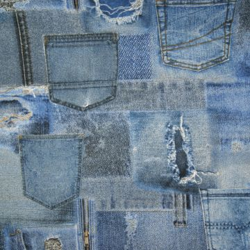 Decoratiestof denim