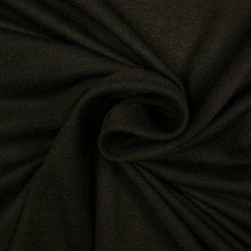 Uni Trikot Viskose schwarz
