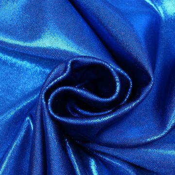 Glitzer/Tanz lycra vier-wege-stretch kobalt