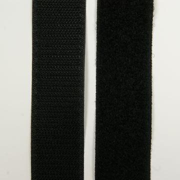 Klittenband zwart 20mm