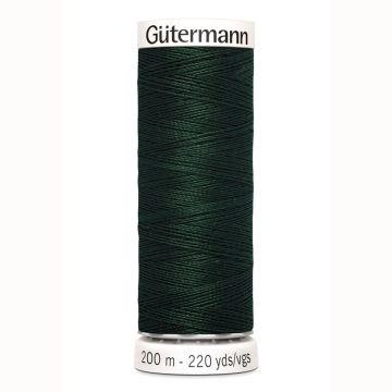 Gütermann naaigaren 200mtr donker groen nr.472