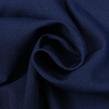 Texturé marineblauw 280cm breed brandvertragend + certificaat (30mtr)