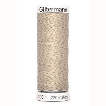 Gütermann naaigaren 200mtr beige nr.722