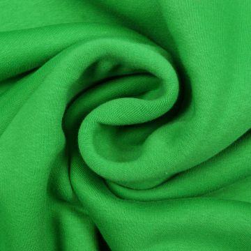 Joggingstoff grün