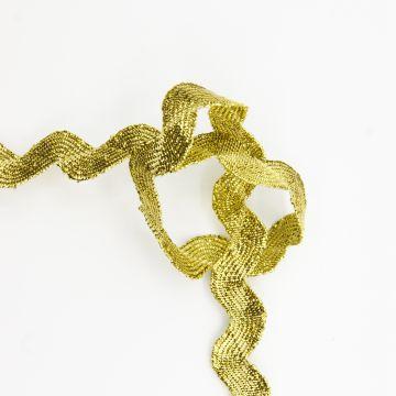 Zigzag goudband 8mm