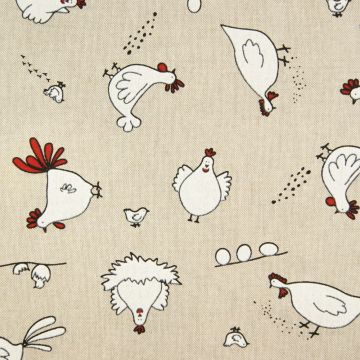Dekostoff Hühner x